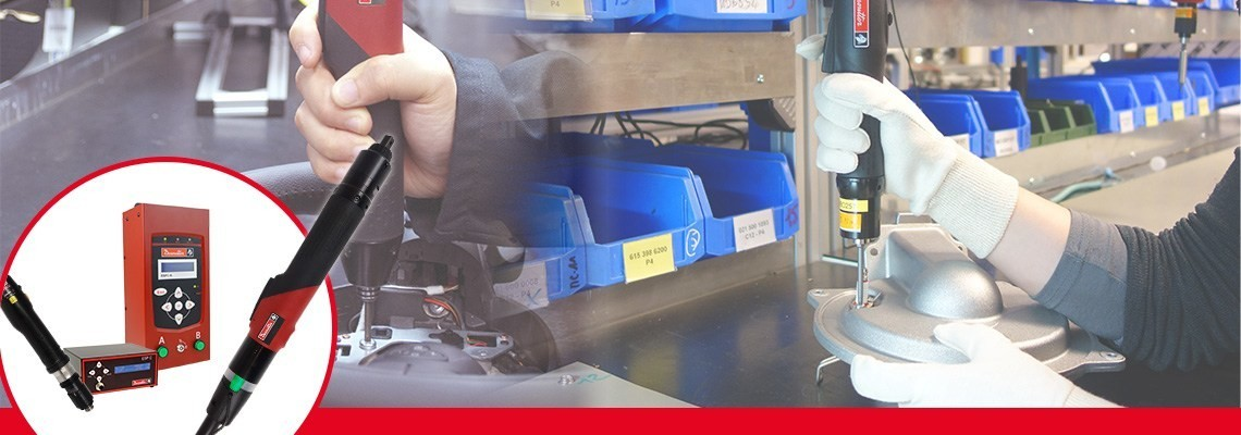 Descubra la gama de las herramientas SLBN y SLCcreadas por herramientas industriales Desoutter. 2 gamas completas de atornilladores elécticos diseñados para alta productividad.