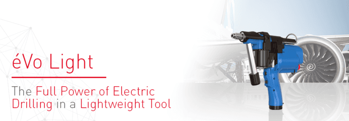 Nueva herramienta eléctrica semiautomática para aplicaciones de perforación: el éVo Light